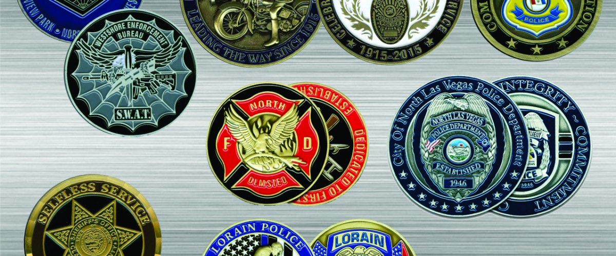 Get custom challenge coins for your department